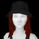 Avatar Black Furry Bucket Hat