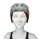 Avatar White Luxe Knit Beanie
