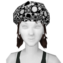 Avatar Black and White Mod Pod Newsboy Hat