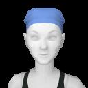 Avatar Blue Scrubs Hair Cover
