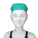 Avatar Green Scrubs Hair Cover