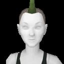 Avatar Spiked Mohawk Green