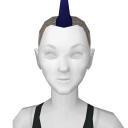 Avatar Spiked Mohawk Blue