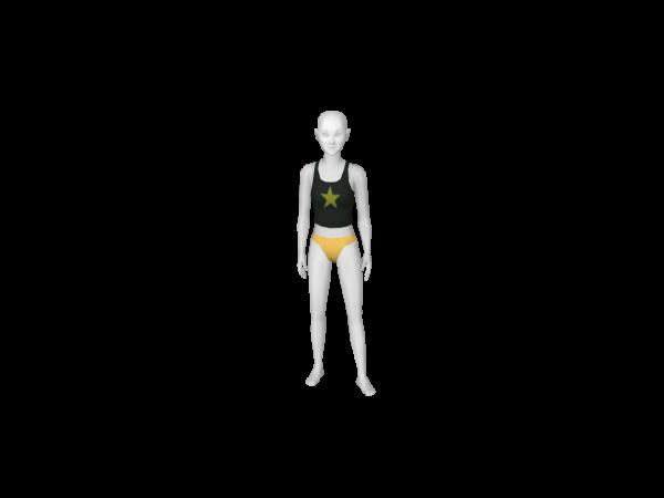 Avatar Yellow Bikini Bottom