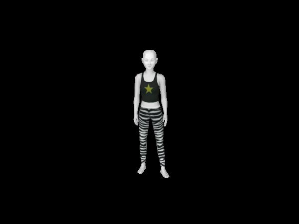 Avatar Zebra leggings