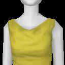 Avatar Yellow Mini-Dress