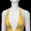 Avatar Yellow Deep-V Halter
