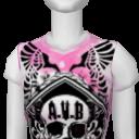 Avatar A.V.B Skull Crest Tee