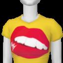 Avatar Yellow Hot Lip Tee