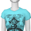 Avatar A.V.B Blue Crown Tee
