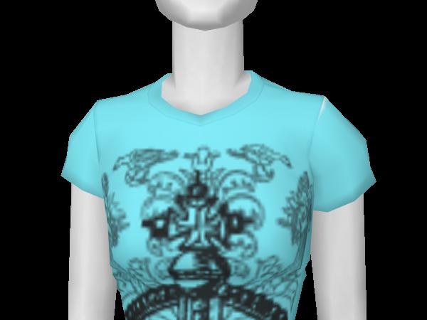 Avatar A.V.B Blue Crown Tee