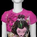 Avatar A.V.B Geisha Girl Tee