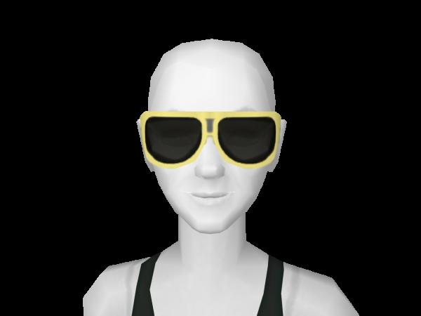 Avatar Yellow and black shades