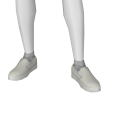 Avatar White SlipOn Decks