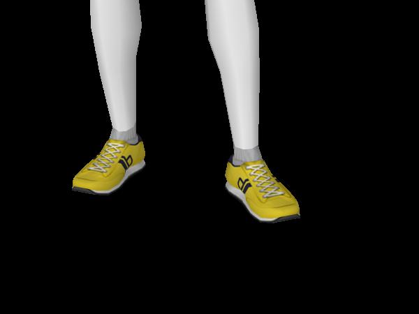 Avatar Yellow Classic Runners