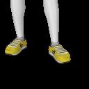 Avatar Yellow Puffy Runners
