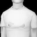 Avatar White Slim Tee