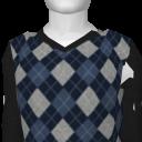 Avatar Argyle V Neck Sweater