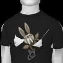 Avatar ET Black FlyingBunny Tee
