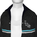 Avatar Black Pin-Striped Jacket