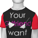 Avatar Your GF want me Tee