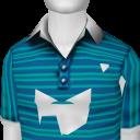 Avatar Aqua and Blue Polo Shirt