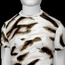 Avatar White Tiger Stripe Tee