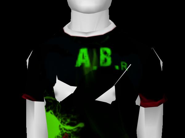 Avatar A.B. Special Edition GREEN Shirt