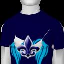 Avatar Winged Fleur De Lis Slim Tee