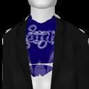 Avatar Winged Skull Blazer (With Blue Tee)