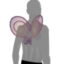 Avatar Curled fairy wings
