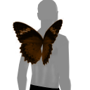 Avatar Orange and black butterfly wings