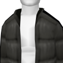 Avatar Black Puffy Coat