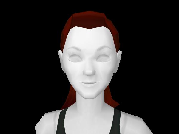 Avatar Ponytail Red