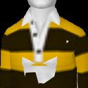 Avatar Yellow Polo Stripe Long Sleeve