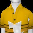 Avatar YellowStripe Tucked ShortSleeve Polo
