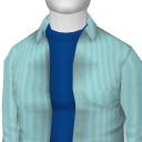 Avatar Azure Loose Shirt