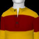 Avatar Yellow Red Henley Tee
