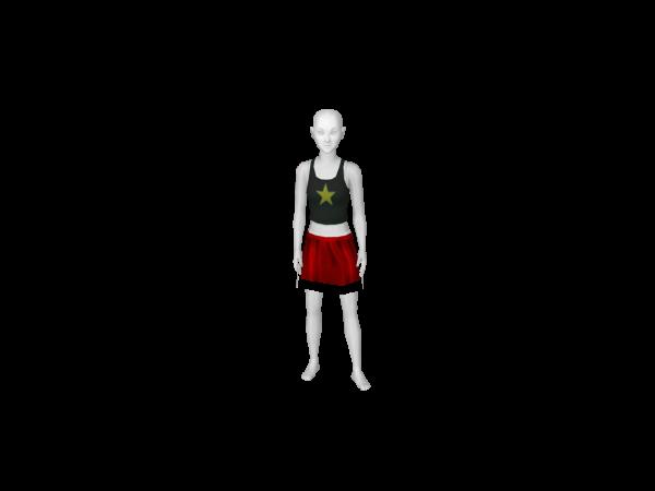 Avatar Xmas Skirt