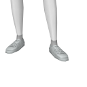 Avatar White Sneakers