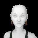 Avatar Citrine Hoop Earrings