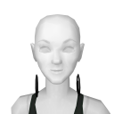 Avatar Black Big Hoop Earrings