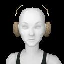 Avatar Beige Ear Muffs