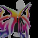 Avatar Volcano rainbow wings