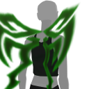 Avatar Green forcefield wings