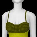 Avatar Yellow tank top