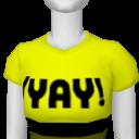"""Avatar """"yay"""" t-shirt"""