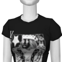 Avatar [rock star] rock playing card slim tee (female)