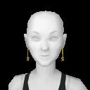 Avatar Gold star earrings