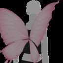 Avatar Pink butterfly wings